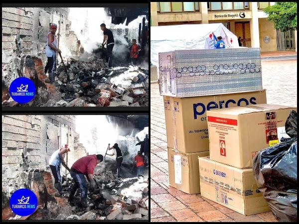 Pasto sigue unida por los damnificados del incendio en Caicedo - Noticias de Colombia
