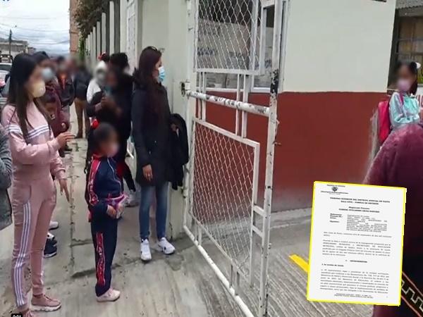 Por decisión del Tribunal estudiantes de Ipiales volverán este lunes a clases presenciales