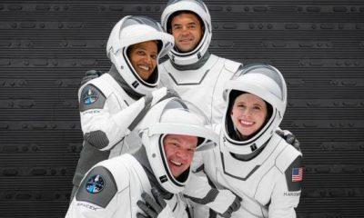 Primera tripulación totalmente civil puesta en órbita a bordo del cohete SpaceX