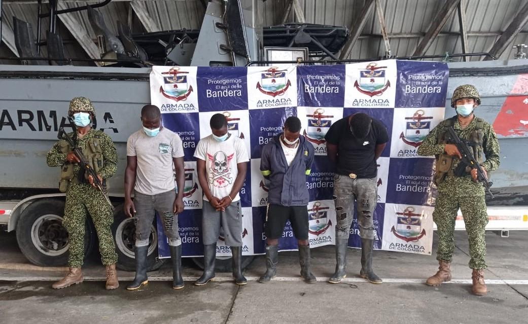 Privados de la libertad cuatro presuntos integrantes de la banda delictiva Pecho de Coco - Noticias de Colombia