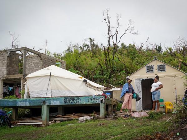 Providencia: solo han entregado 19 % de casas nuevas | Huracán Iota | Gobierno | Economía