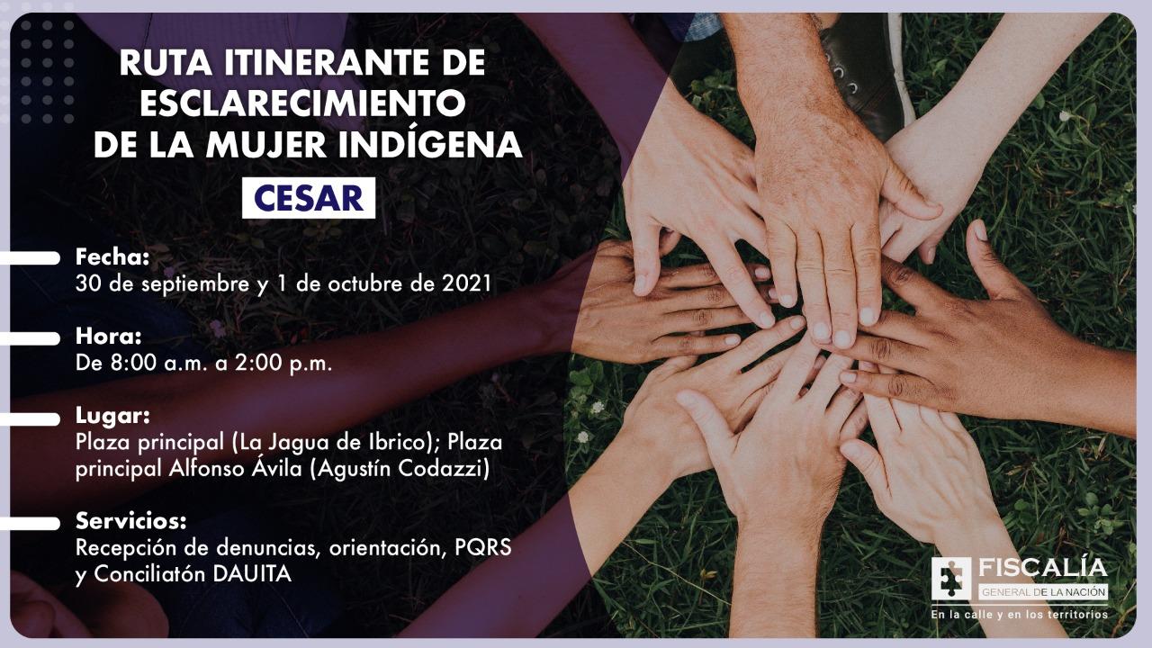 Ruta de Esclarecimiento Itinerante de la Fiscalía General de la Nación llega a Cesar - Noticias de Colombia