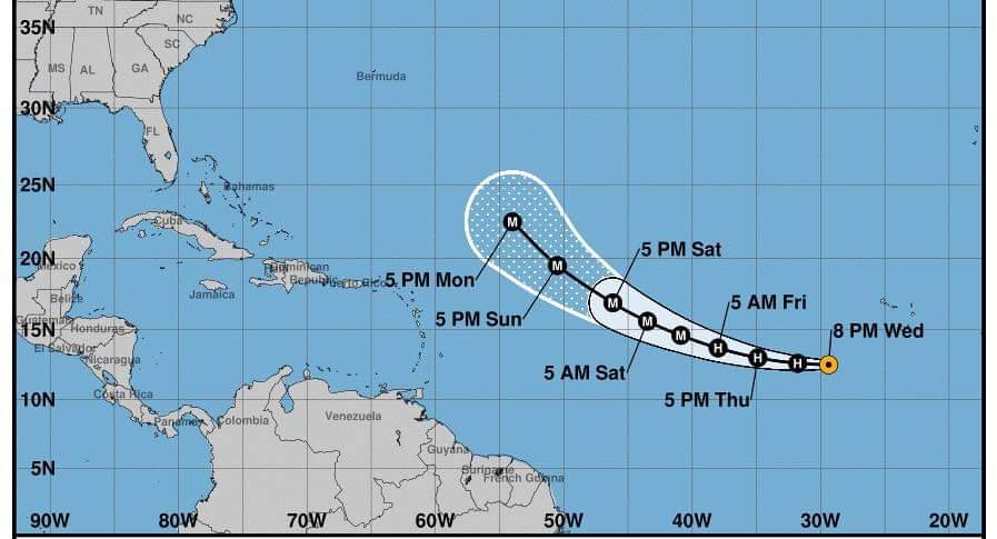 Se desarrolla en el oceano Atlántico la tormenta tropical 'Larry' - Noticias de Colombia