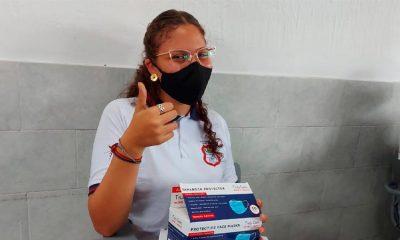 Se han donado más de 600.000 máscaras a instituciones educativas - Noticias de Colombia
