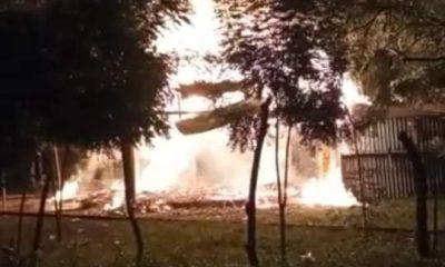 Se incendió un estadero en San Pedro - Noticias de Colombia