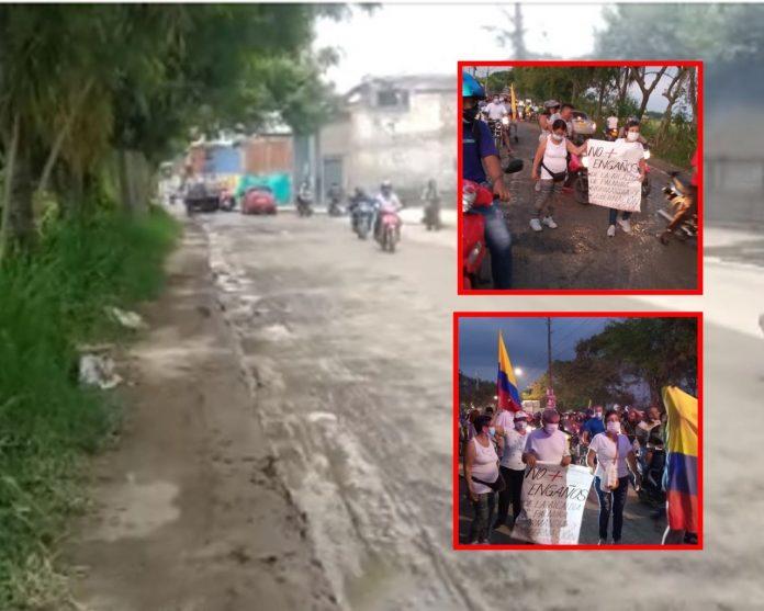 """""""Seguiremos exigiendo"""": Ciudad del Campo pide """"cumplir"""" con el trazado vial y las promesas hechas - Noticias de Colombia"""