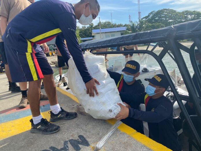 Seis toneladas de desechos son sacadas del Golfo de Morrosquillo durante una jornada de limpieza