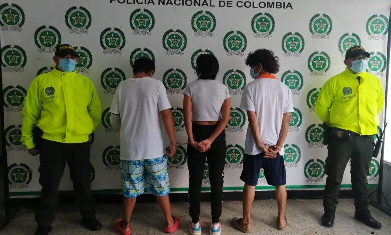 Tres personas capturadas por hurto en Yopal