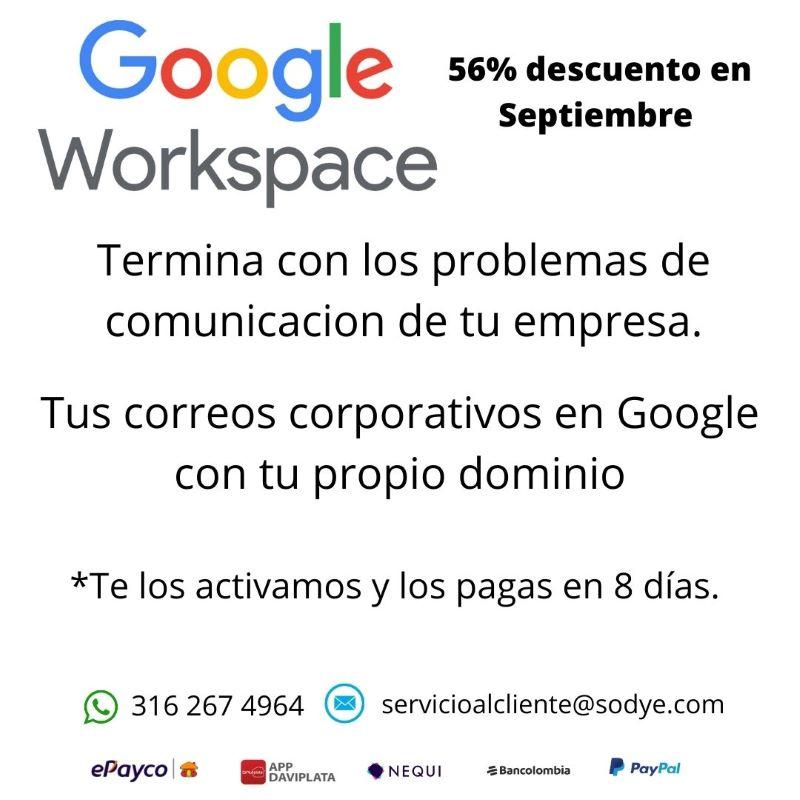 Correos en Workspace