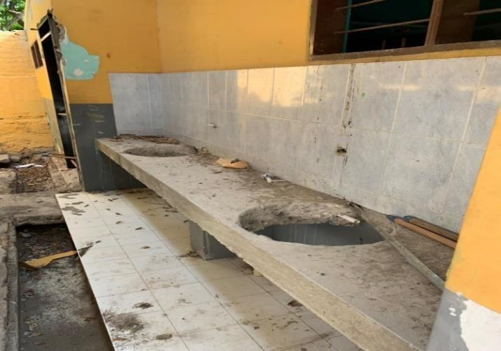 Verificación de colegios de La Guajira: el IE Roig Villalba en pésimas condiciones - Noticias de Colombia