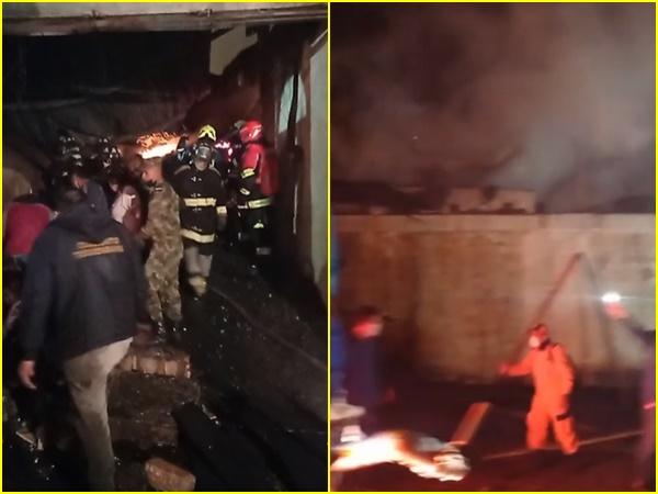 Emergencia en Pasto dejo hay varias viviendas afectadas, familias damnificadas y algunos heridos