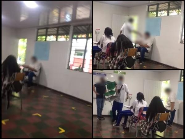 Zarzal: indignación hacia estudiantes que