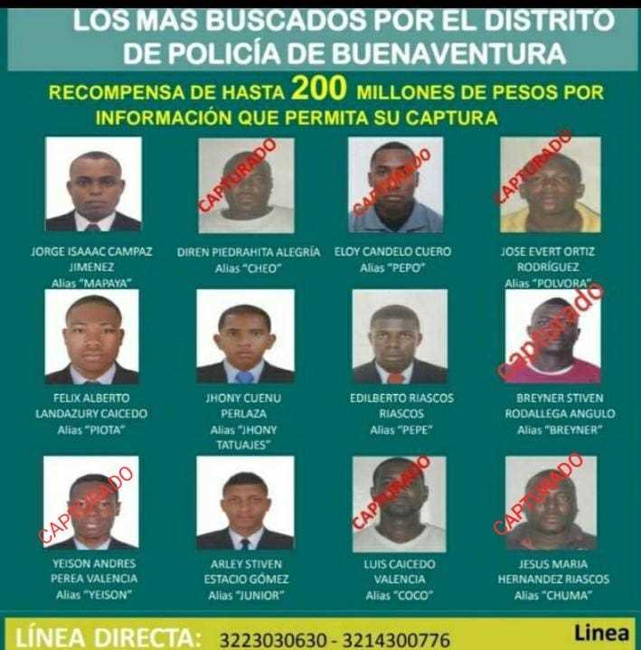 """Capturaron a """"Yeison o Penco"""" integrante de facción de los espartanos en Buenaventura   Noticias de Buenaventura, Colombia y el Mundo"""