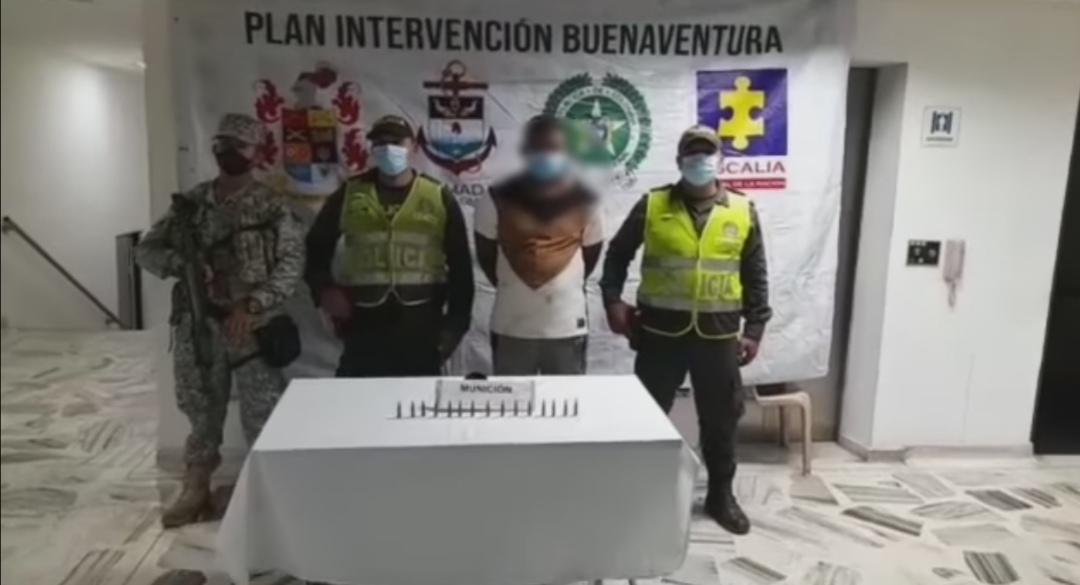 porte ilegal de armas en Buenaventura