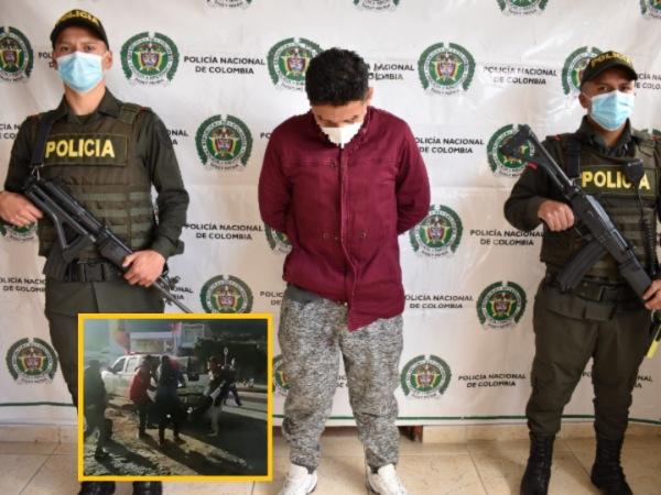 17 años tiene el presunto asesino de hincha en vías de Nariño, la Policía lo aprehendió