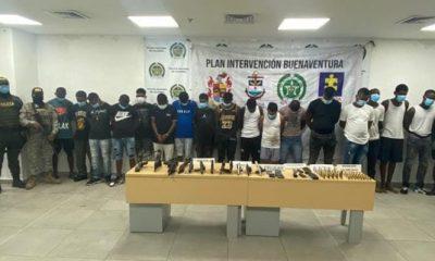 A la cárcel 16 presuntos integrantes de 'Los Espartanos', estructura responsable de actos de terrorismo y secuestro en Buenaventura - Noticias de Colombia
