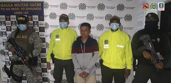 A la cárcel alias el enano, presunto sicario del 'Clan del Golfo' - Noticias de Colombia