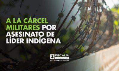 A la cárcel militares por asesinato de líder indígena - Noticias de Colombia