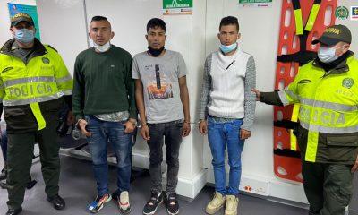 A la cárcel tres hombres capturados en flagrancia después de, al parecer haber hurtado una pizzería en el occidente de Bogotá - Noticias de Colombia