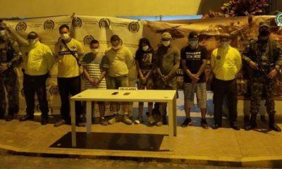 A prisión 6 presuntos integrantes de 'Los de La Loma', grupo ilegal dedicado al tráfico de estupefacientes - Noticias de Colombia