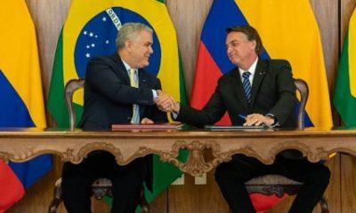 Acuerdos por más de US$ 1.400 millones, entre los logros de reunión Duque-Bolsonaro