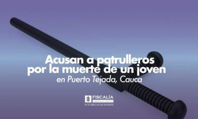 Acusan a patrulleros por la muerte de un joven en Puerto Tejada, Cauca - Noticias de Colombia