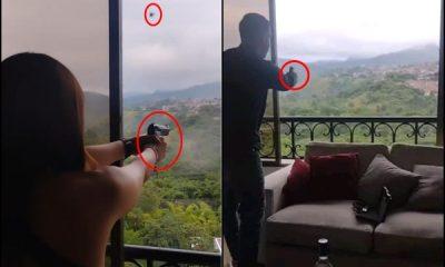 """""""Apunta, apunta ahí"""": Se grabaron disparando desde un edificio al oeste de Cali - Noticias de Colombia"""