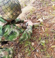 Artefacto explosivo descubierto por ejército en Jambaló Cauca - Noticias de Colombia