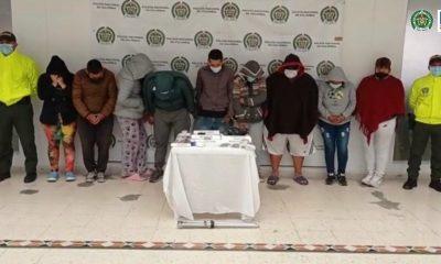 Asegurados 8 presuntos integrantes de la banda Los Pastamos, por tráfico de estupefacientes y receptación en 4 comunas de Pasto - Noticias de Colombia
