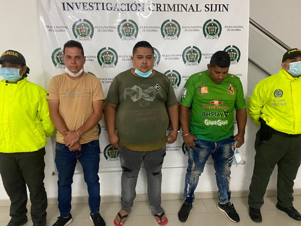 Asegurados presuntos responsables de tráfico de armas de fuego en Cúcuta - Noticias de Colombia
