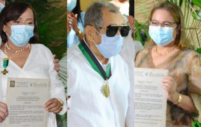 Este martes 12 de octubre se presentó un hecho relevante para la historia del municipio carbonífero, cuál fue la de condecorar a tres de sus más importantes hijos.