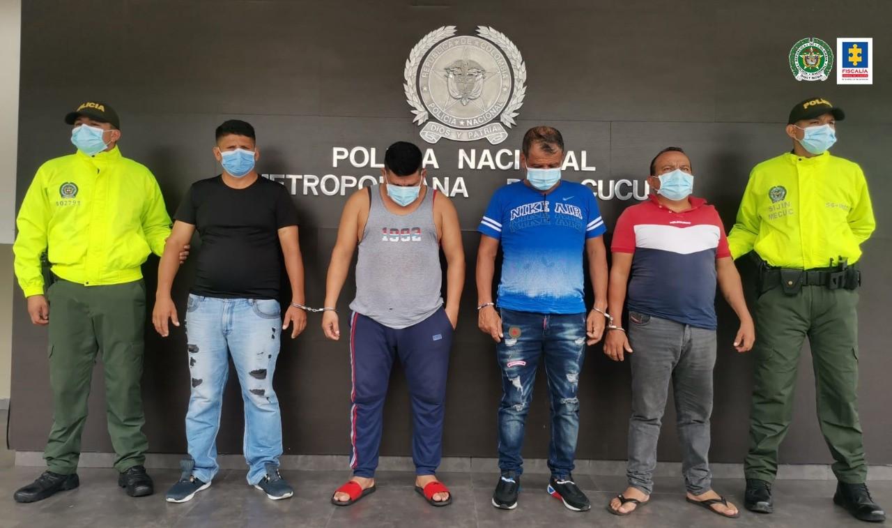 Capturados presuntos integrantes del grupo delincuencial Trofonio, dedicado al tráfico de armas y otros delitos - Noticias de Colombia