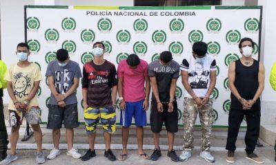 Cárcel en contra de presuntos integrantes de la banda El Combo, por la presunta venta de estupefacientes en Cundinamarca - Noticias de Colombia