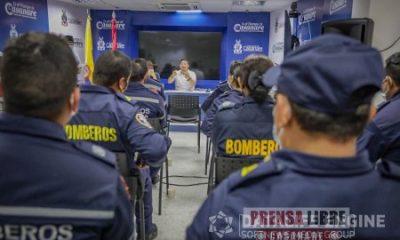Con anuncio de $3500 millones para fortalecer a los Bomberos de Casanare se conjuró protesta del organismo de socorro - Noticias de Colombia