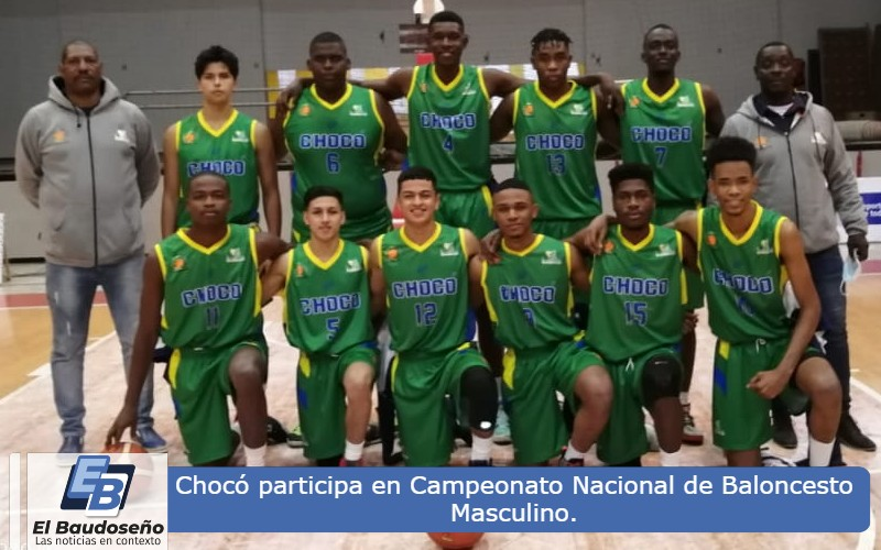 Con el apoyo de INDECHO, el Chocó participa en Campeonato Nacional de Baloncesto Masculino. - Noticias de Colombia