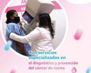 Con unidades móviles, Ensalud promueve jornadas para la sensibilización del cáncer de mama