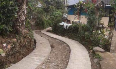 Construyeron placa huella en el corregimiento de Bolívar - Noticias de Colombia