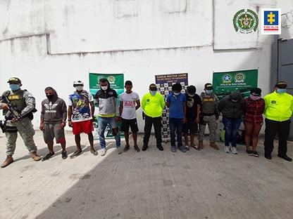 Desarticulado grupo delincuencial Eliseo, dedicado al narcotráfico en Sucre - Noticias de Colombia