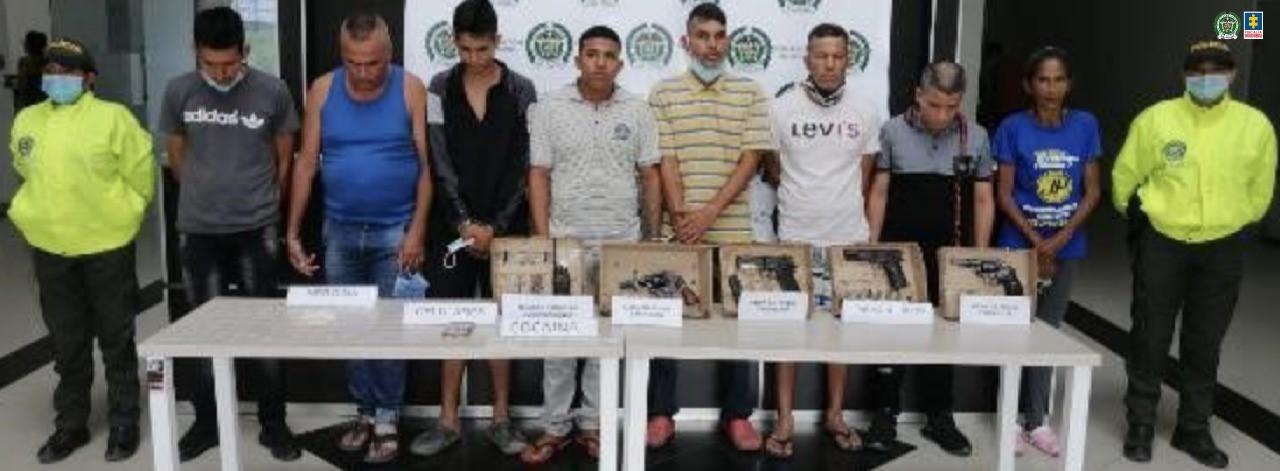 Desarticulado grupo delincuencialLos del Callejón García,dedicado al tráfico estupefacientes en la comuna 9 de Cúcuta - Noticias de Colombia