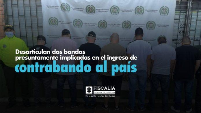 Desarticulan dos bandas presuntamente implicadas en el ingreso de mercancía de contrabando al país - Noticias de Colombia