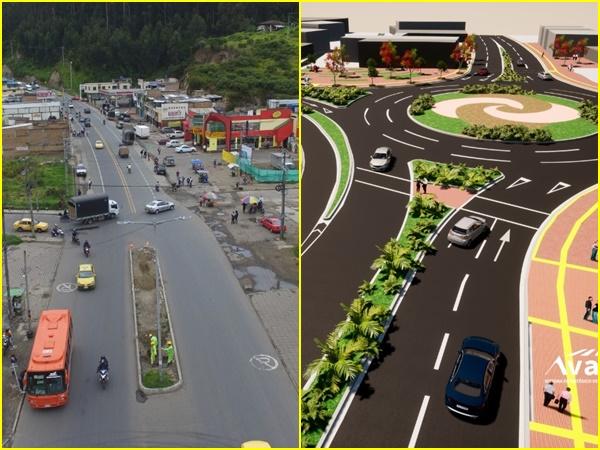 Destinarán $6.400 millones para proyecto vial de la Glorieta Chapal y obras de la carrera Cuarta de Pasto