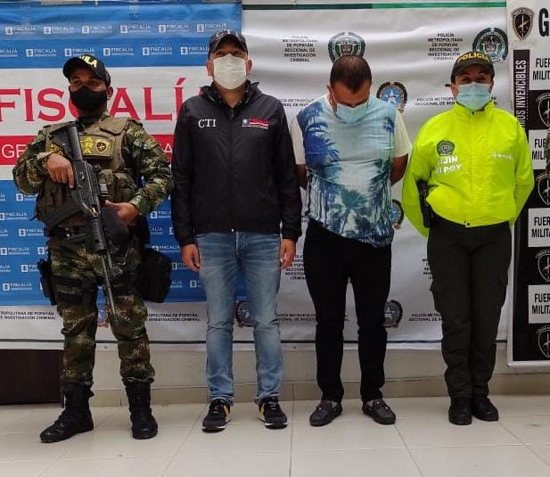 Detención intramuros para presunto determinador del homicidio del líder estudiantil caucano Esteban Mosquera Iglesias - Noticias de Colombia