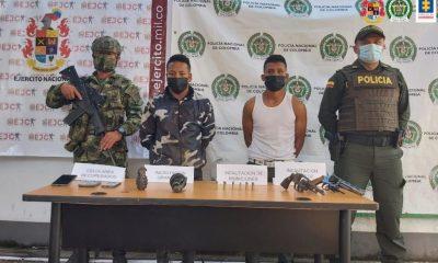 Dos hombres y un menor fueron judicializados porque presuntamente hurtaron dos vehículos y portaban armas de fuego - Noticias de Colombia