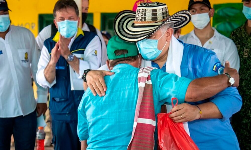 Duque anuncia inversión de 2.5 billones de pesos para la Mojana
