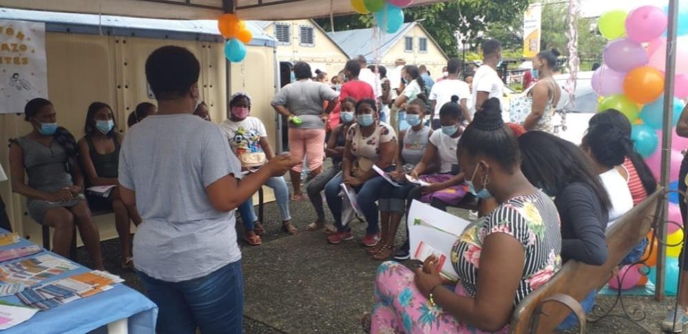 El centro de salud de la Independencia realiza varias charlas sobre sexualidad responsable con jóvenes de Buenaventura