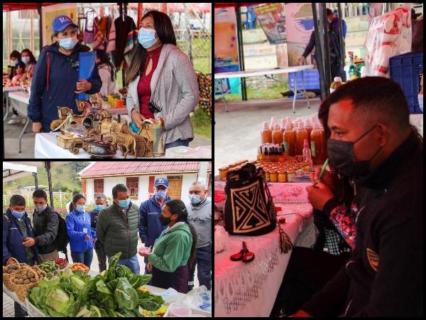 """En El Encano se desarrolla la Primera Feria Agropecuaria, es por la """"reactivación económica"""" y va hasta mañana domingo - Noticias de Colombia"""