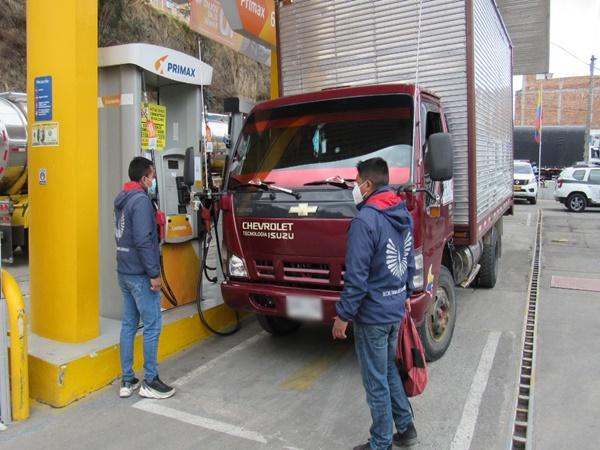 En Pasto cerraron estación de servicio que ilegalmente vendía combustible subsidiado
