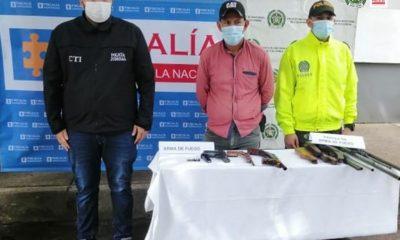 En San Vicente del Caguán fue hallado un inmueble donde almacenaban armas y municiones - Noticias de Colombia