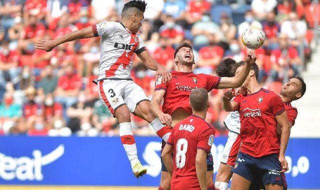 Falcao jugó 57 minutos en la derrota del Rayo Vallecano ante Osasuna - Noticias de Colombia