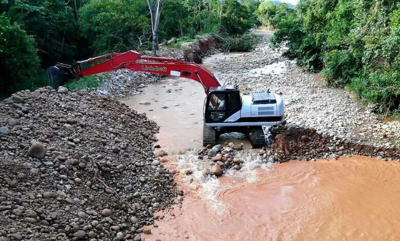 Familias quedarón protegidas de las inundaciones del caño La Garrapata en Pore